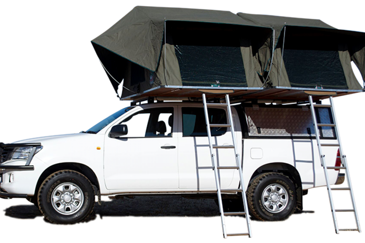 camping toyota hilux 4x4